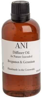 Ani Skincare - Bergamot & Geranium Diffuser Refill