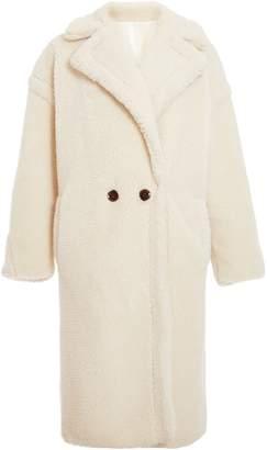 Next Womens Quiz Teddy Button Front Coat