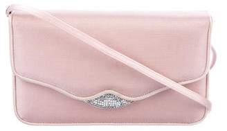 Judith Leiber Embellished Flap Shoulder Bag