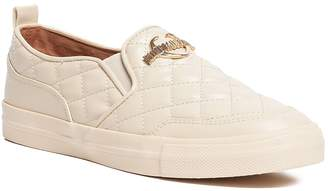 Love Moschino Scarpad Faux Leather Quilted Slip-On Sneaker