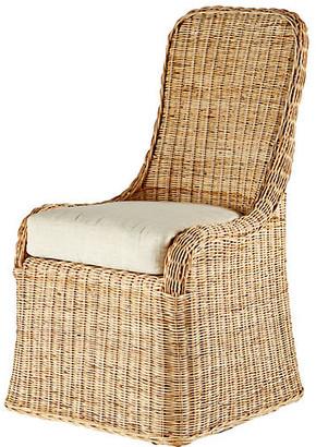 Selamat Pamona Rattan Side Chair - Natural