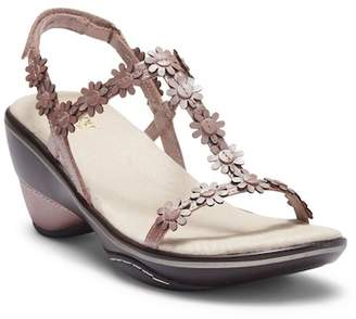 Jambu Cybill Leather Wedge Sandal