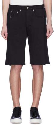 Alexander McQueen Stripe outseam cavalry twill shorts