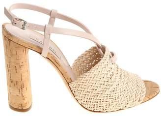 Casadei Tess weaved Sandals