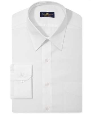 Club Room Mens Classic-Fit Wrinkle Resistant Button Up Dress Shirt