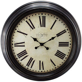 Lark Manor Hovey Antique Dial Analog 23 Wall Clock
