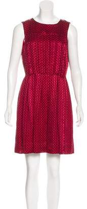 Marc by Marc Jacobs Silk Patterned Dress