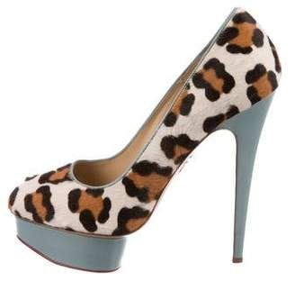 Charlotte Olympia Dolly Ponyhair Pumps
