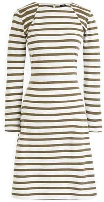 J.Crew 365 Stripe Knit Fit & Flare Dress
