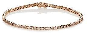 Eva Fehren Women's Tennis Bracelet - Rose Gold