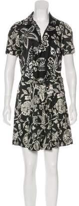 Isabel Marant Silk Floral Print Dress