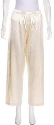 St. John High-Rise Satin Pants