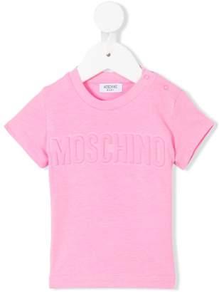 Moschino Kids tonal logo print T-shirt