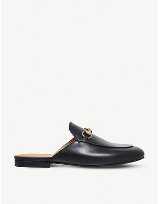 Gucci Princeton leather slider sandals