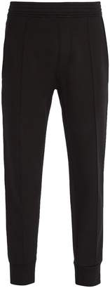Neil Barrett Side-stripe jersey track pants