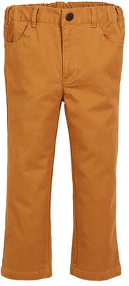 Fore Brushed Twill Straight-leg Pants, Size 2-8