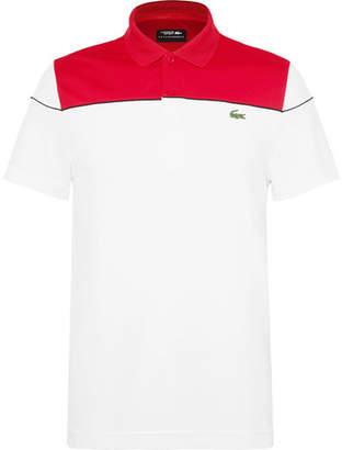 Lacoste Tennis Novak Djokovic Piqué Tennis Polo Shirt