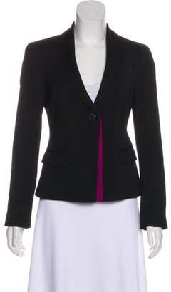 Emporio Armani Long Sleeve Wool-Blend Blazer w/ Tags