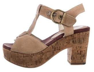 Florentini + Baker Platform T-Strap Sandals