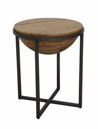 Ctr Imports Drum Side Table