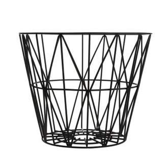 ferm LIVING Medium Wire Basket - Black