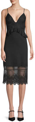 French Connection Delos Lace Sheath Dress