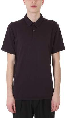 James Perse Bordeaux Cotton Polo