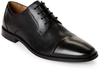 Florsheim Black Finley Cap Toe Oxfords
