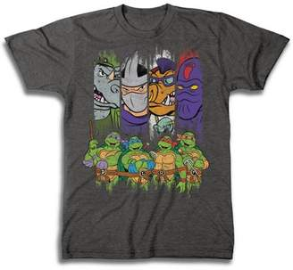Movies & TV TMNT Characters Big Men's Short Sleeve T-shirt
