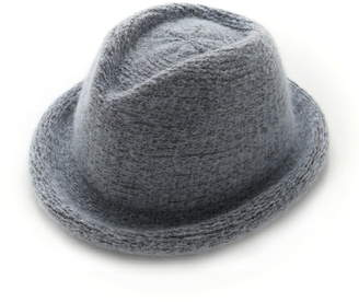 Angouleme (アングレーム) - Angouleme ウール混スタンダードハット アングレーム 帽子/ヘア小物