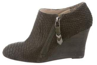 Matt Bernson Ponyhair Wedge Booties
