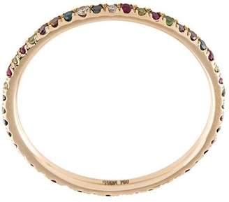 Ileana Makri 18kt rose gold Rainbow band ring