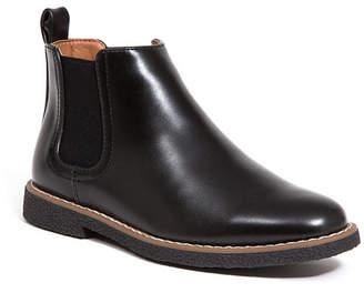 Deer Stags Kid's Zane Memory Foam Dress Comfort Chelsea Boot (Big Kid/Little Kid)