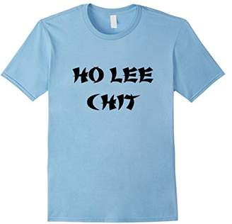 Lee Ho Chit Holy Sh!t Funny Chinese Graphic T-Shirt