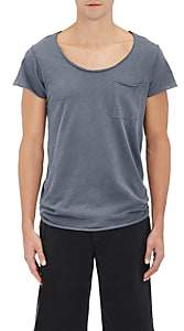 NSF Men's Rolled-Edge Jersey T-Shirt - Navy Size S
