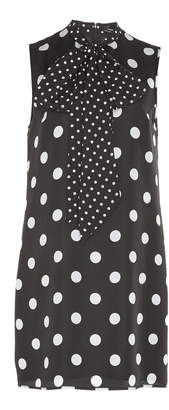 Andrew Gn Polka Dot Mini Dress