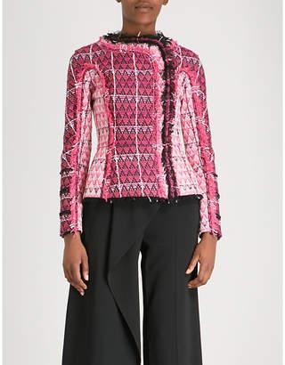 Roland Mouret Bellasis tweed jacket