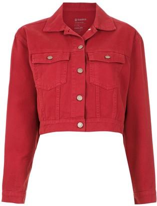 OSKLEN cropped denim jacket