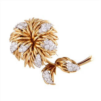 Van Cleef & Arpels Heritage  18K Two-Tone 4.30 Ct. Tw. Diamond Brooch