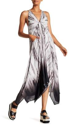 Desigual Racerback Sleeveless Maxi Dress