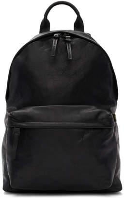 Officine Creative Black Novak Backpack