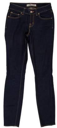 J Brand Ink Low-Rise Skinny Jeans