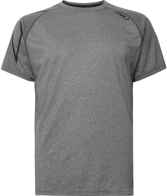 2XU Xctrl Mélange Stretch-Jersey T-Shirt