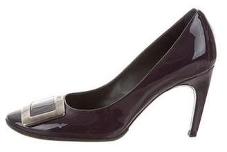 Roger Vivier Round-Toe Buckle Pumps
