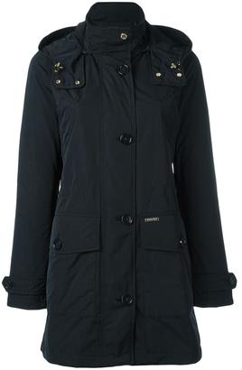 Woolrich zipped hooded coat $483.36 thestylecure.com