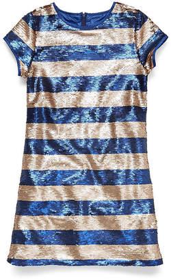 Parker PEYTON & Peyton & Short Sleeve Shift Dress Girls