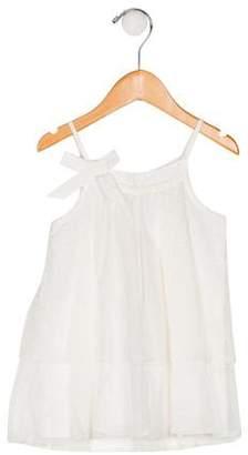 Lili Gaufrette Girls' Sleeveless Mesh Dress