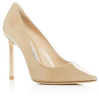 Jimmy Choo Women's Romy 100 Pointed-Toe Pumps