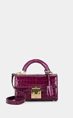 Stalvey Women's Top-Handle 2.0 Mini Alligator Satchel - Amethyst