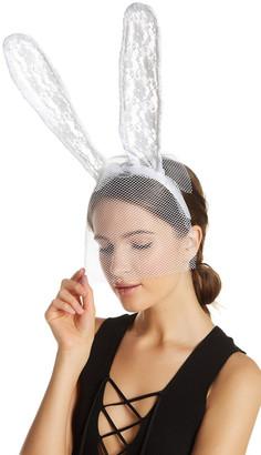 NOIR Front Veil Lace Bunny Ear Headband $14.97 thestylecure.com